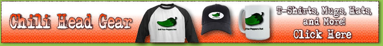 Get your jalapeno pepper and other chili pepper gear here, including t-shirts, mugs, hats, buttons, posters, and more.