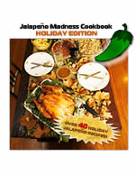 Buy the Jalapeno Madness Cookbook - Holiday Edition!
