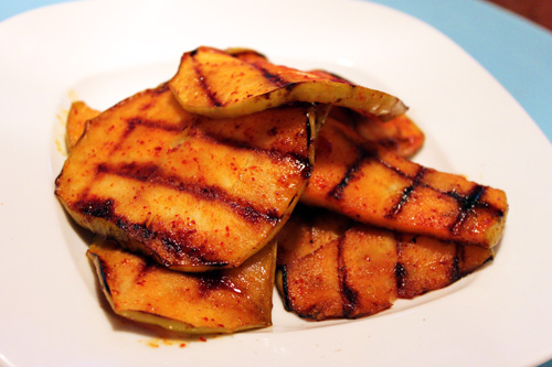 Sweet and Spicy Grilled Apples Recipe