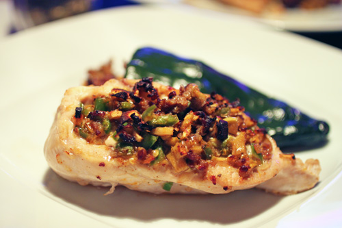 Jalapeno-Apple Stuffed Chicken Recipe