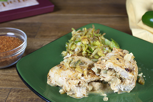 Jalapeno and Goat Cheese Stuffed Chicken Breasts Recipe