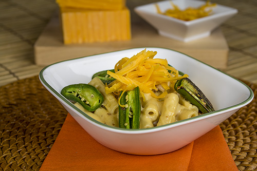 Homemade Ziti and Cheese with Jalapeno Peppers Recipe