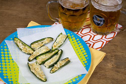 Blue Cheese and Butter Jalapeno Poppers