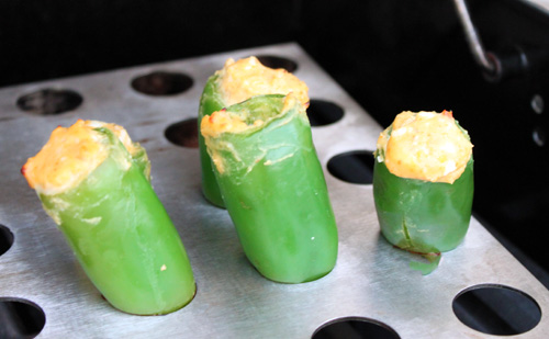 Buffalo Chicken Stuffed Jalapeno Poppers Recipe - Super Bowl Recipes