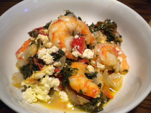 Spicy Baked Shrimp with Feta Cheese